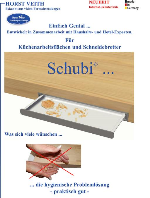 Schubi - Vermarktung von Erfindungen und Ideen - BMV